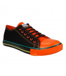Vostro CPLUS01 Black Orange Men Casual Shoes - VCS1094-40
